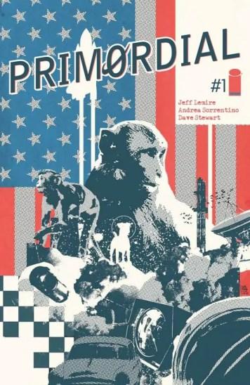 Jeff Lemire, Andrea Sorrentino blast off with 'Primordial'