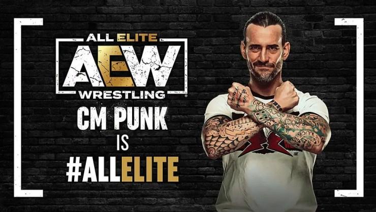CM Punk, the new AEW Demo God