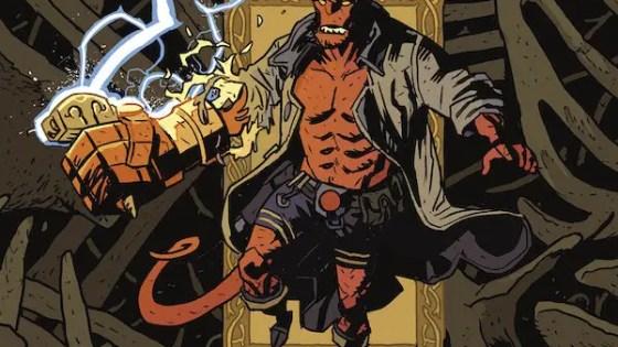 Dark Horse announces 'Hellboy: The Bones of Giants' #1 adaptation