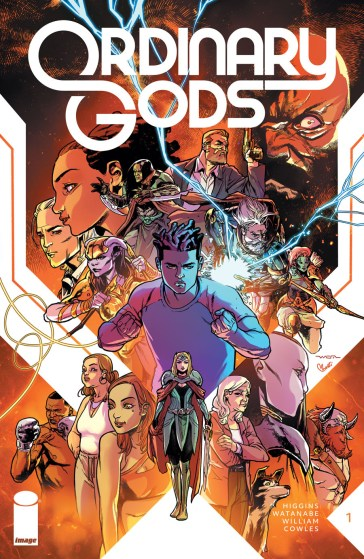 Image Comics reveals 'Ordinary Gods' #1 and #2 sold out