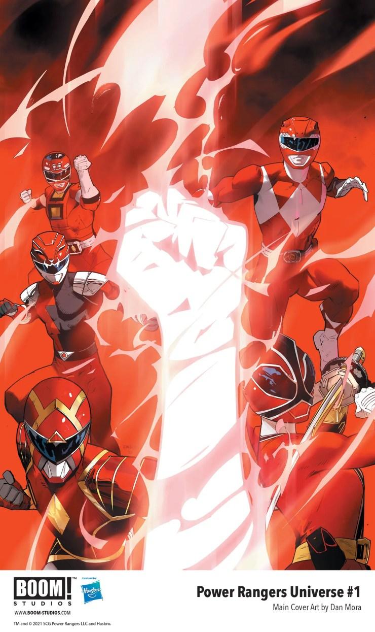BOOM! Studios announces 'Power Rangers Universe' creative team