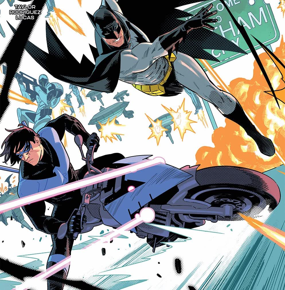 'Nightwing' #84 offers great Batman team-up action