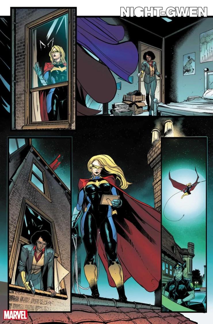 Reborn as. . . Batgirl.