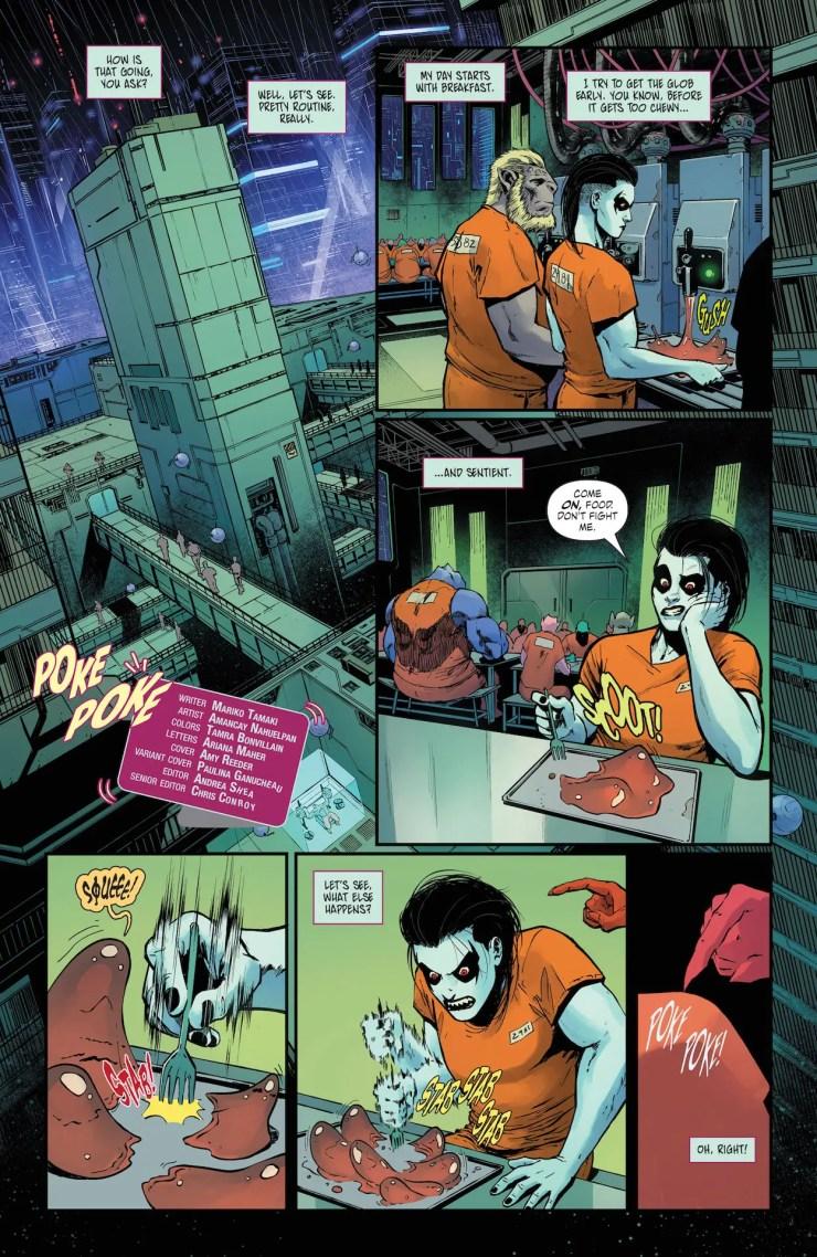 DC Preview: Crush & Lobo #4