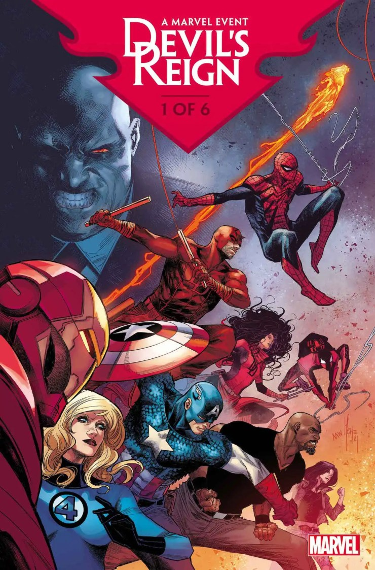 Marvel unleashes hell with new 'Devil's Reign' story details