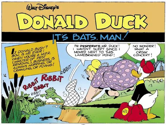 Donald Duck Job #32,761