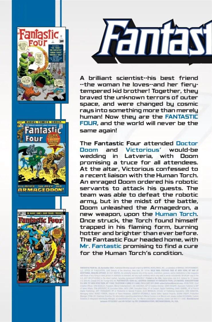 Marvel Preview: Fantastic Four #35