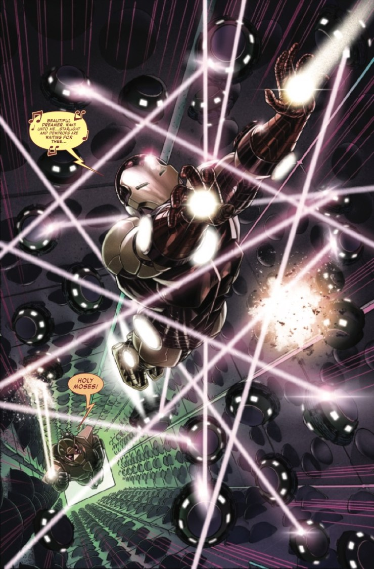 Marvel Preview: Iron Man #12