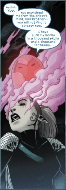 Onslaught brain wormies. X-Men: The Onslaught Revelation #1