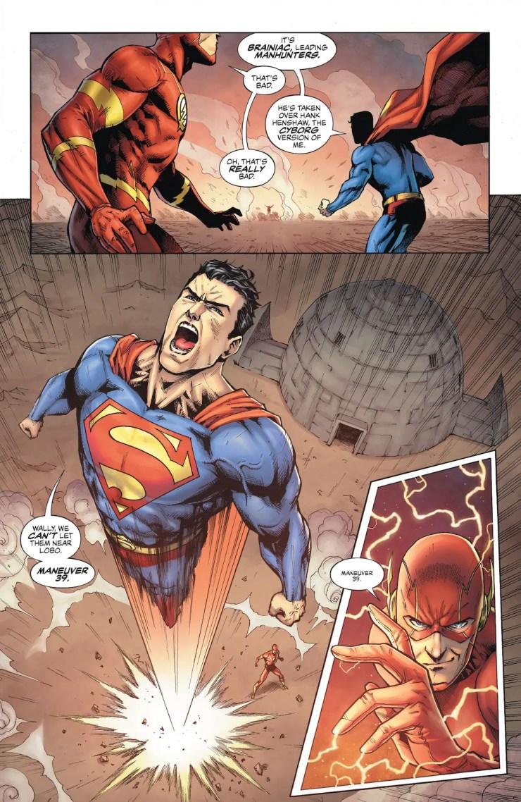 DC Preview: Justice League: Last Ride #5