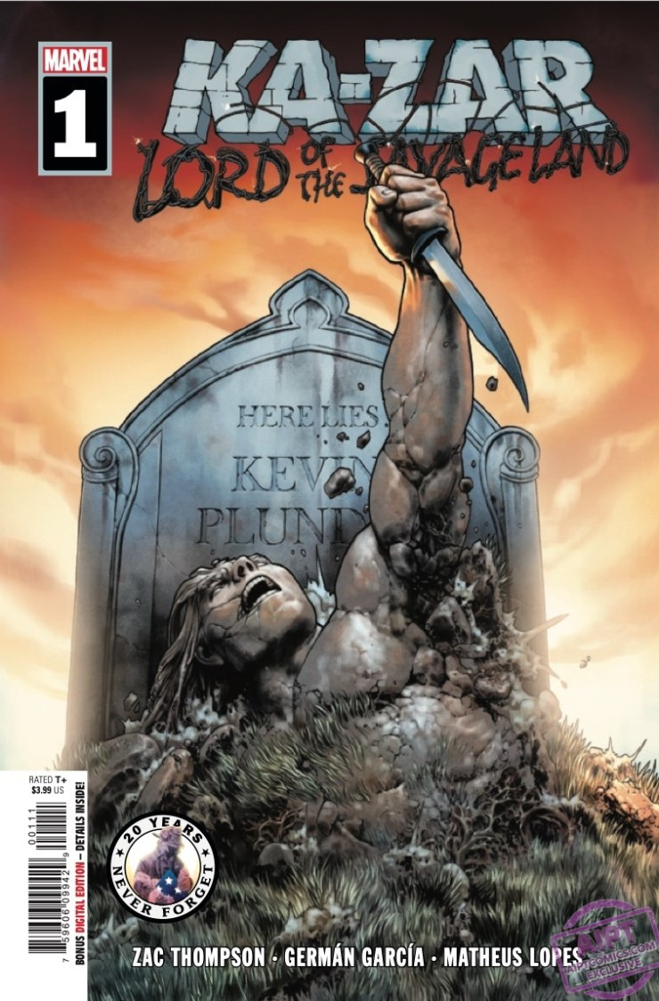 EXCLUSIVE Marvel Preview: Ka-Zar: Lord of the Savage Land #1