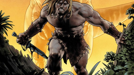 Three covers revealed for 'Ka-Zar: Lord of the Savage Land' #2