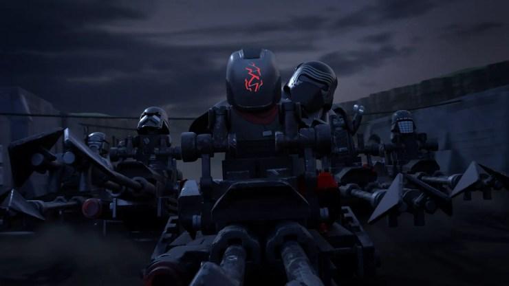 Disney+ reveals LEGO Star Wars Terrifying Tales trailer