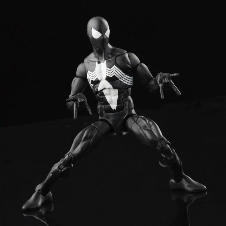 Marvel Legends Retro Collection Symbiote Spider-Man revealed