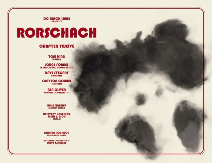 DC Preview: Rorschach #12