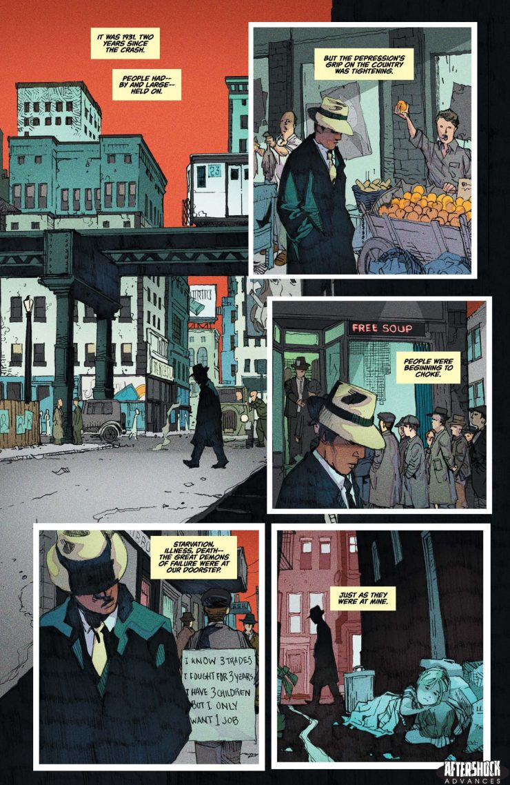 EXCLUSIVE AfterShock Preview: Shadow Doctor TPB