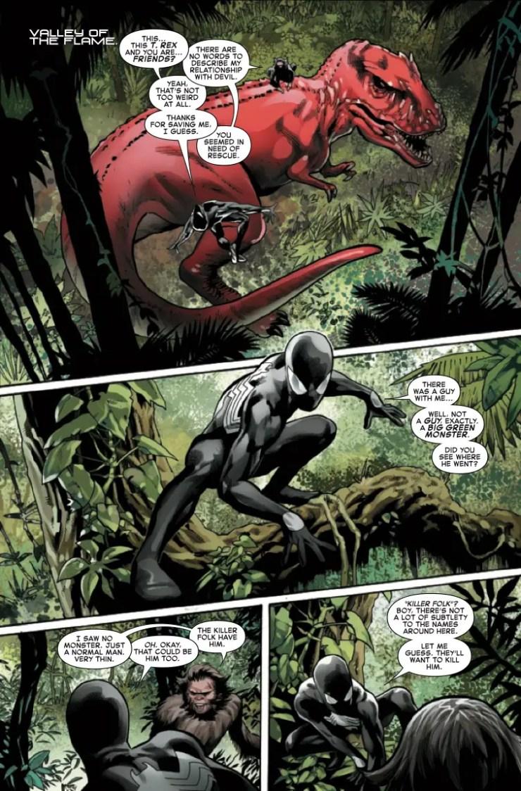 Marvel Preview: Symbiote Spider-Man: Crossroads #3