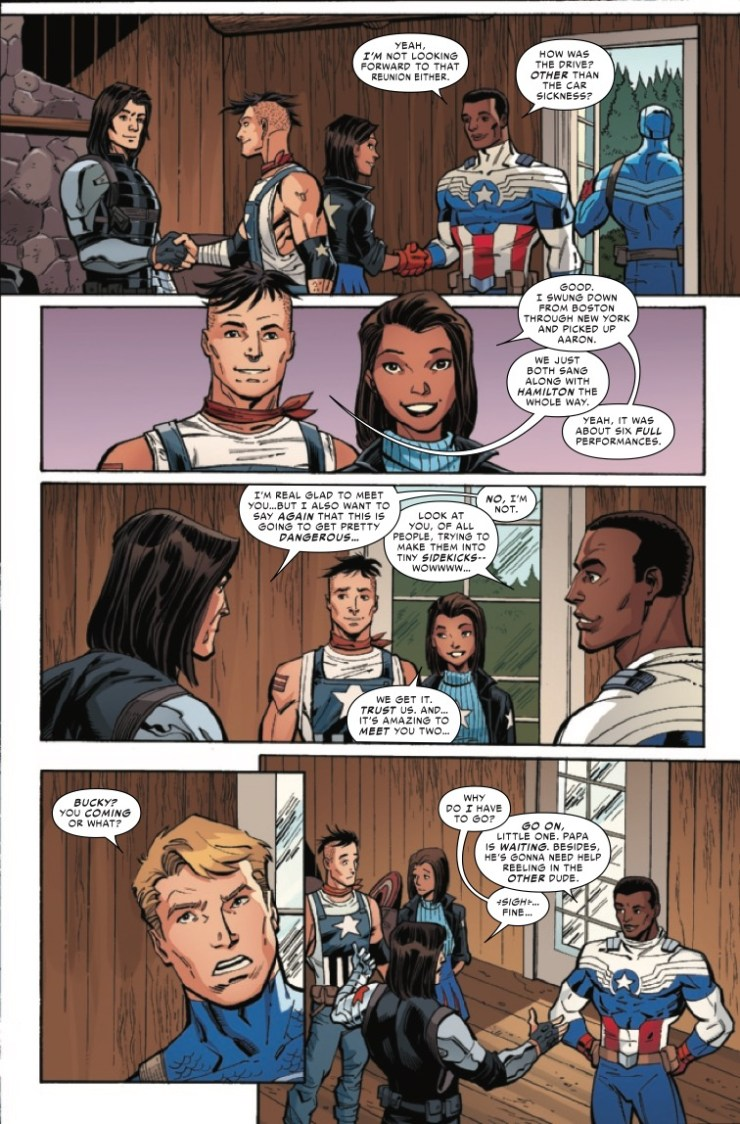 Marvel Preview: The United States of Captain America #4