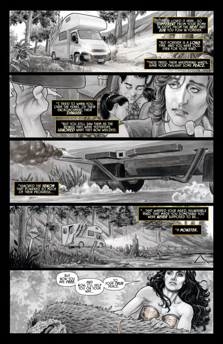 Wonder Woman: Black and Gold #4