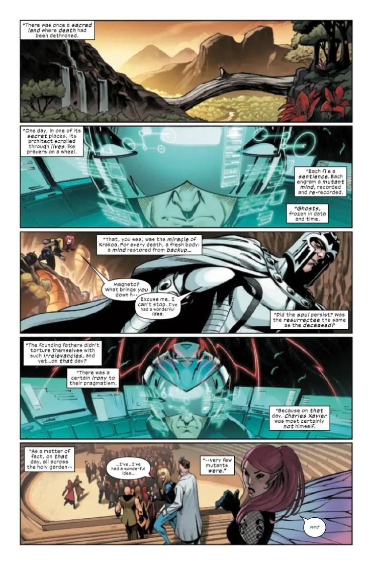 Marvel Preview: X-Men: Onslaught Revelation #1