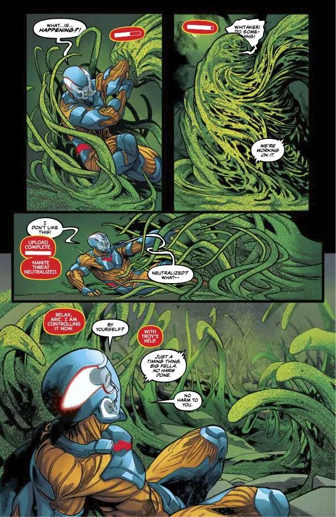 'X-O Manowar' #6 review
