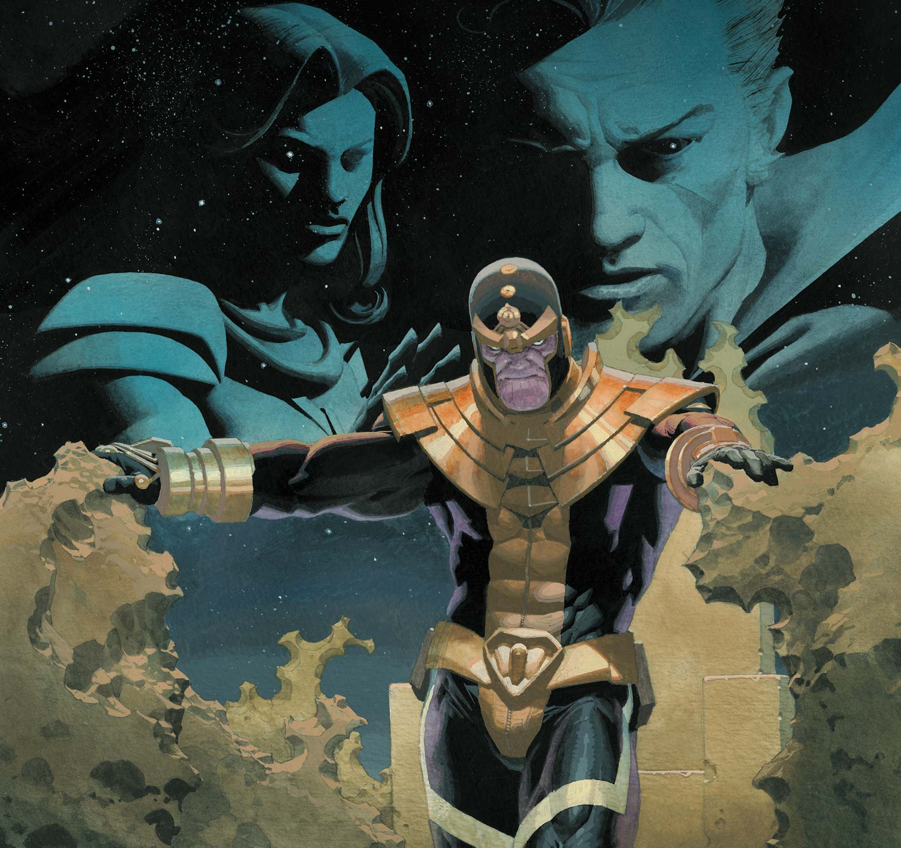 'Eternals: Thanos Rises' #1 is an otherworldly joy to read