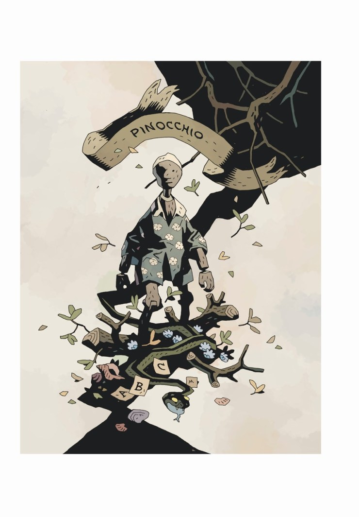Beehive Books announces Mike Mignola's Illustrated Edition of 'Pinocchio'