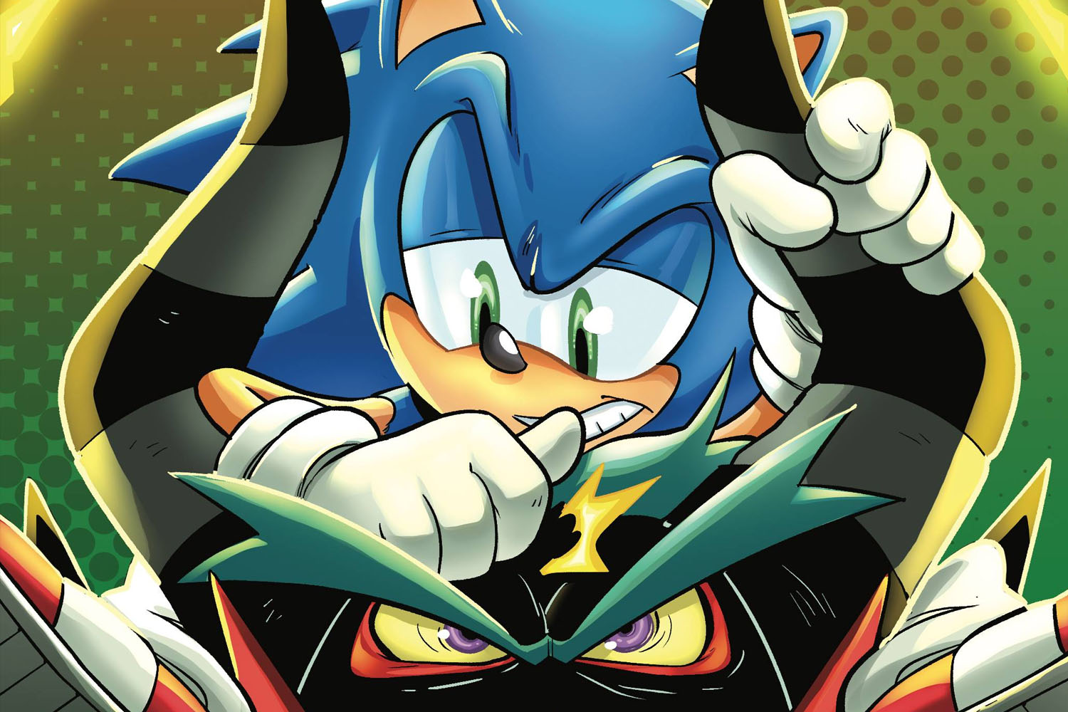 'Sonic the Hedgehog' #43 is a fun frenzy of fighting