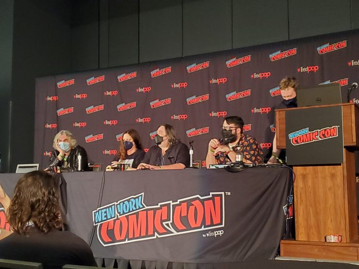 NYCC '21: James Tynion speaks out on 'insidious' conspiracy theories