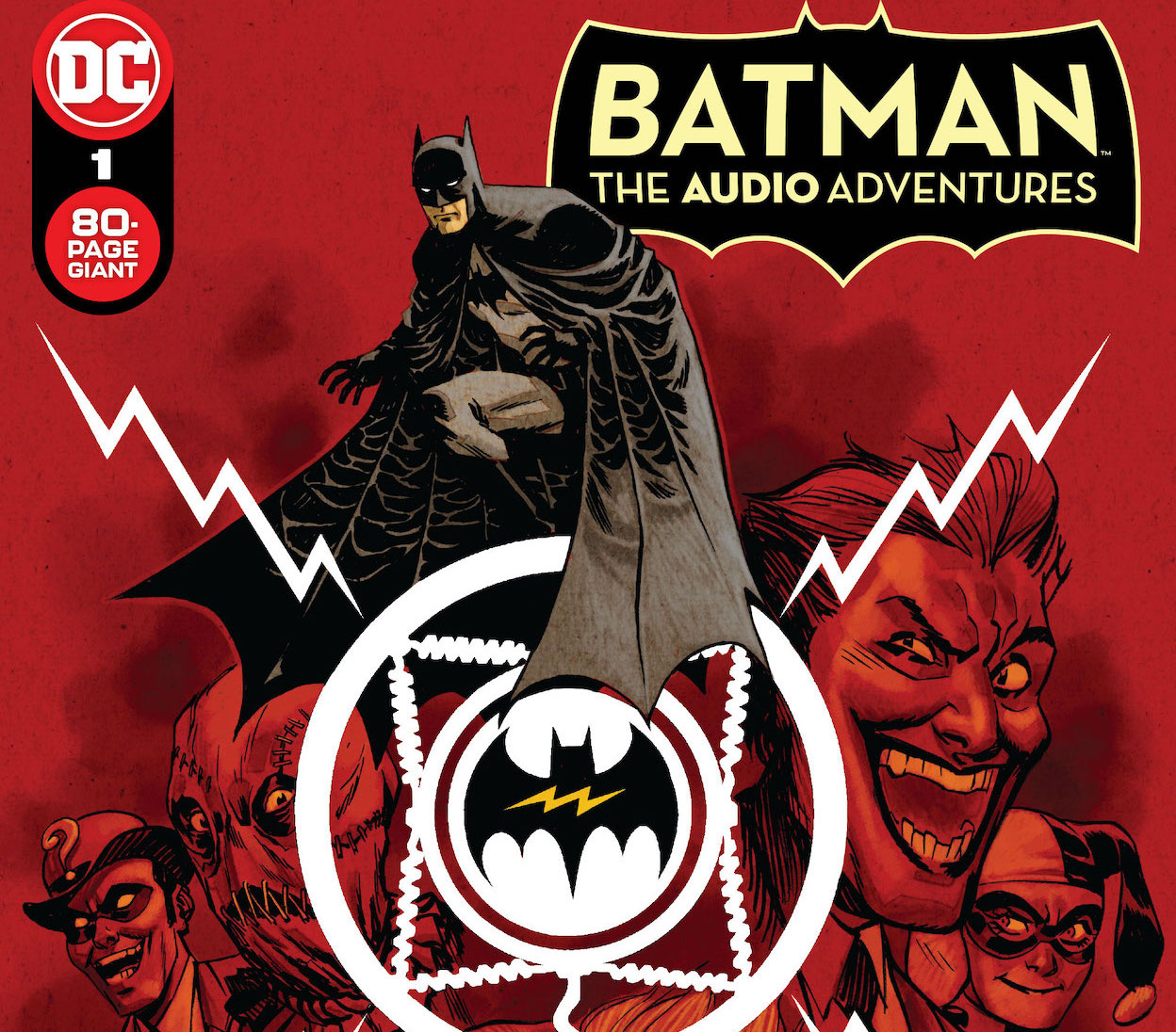 'Batman: The Audio Adventures Special' #1 is having a lot of fun
