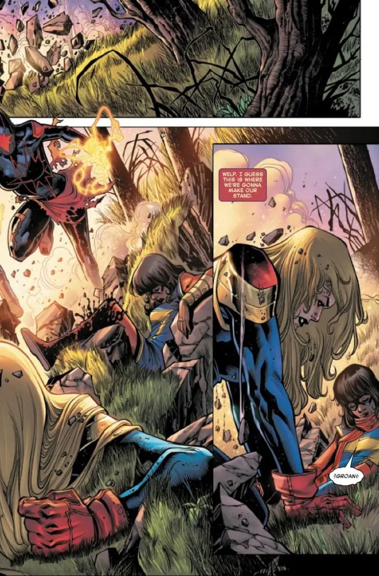 Marvel Preview: Captain Marvel #33