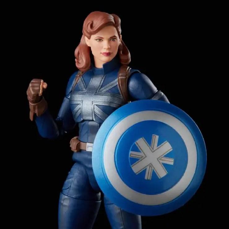 Marvel Legends 'What If...?' Captain Carter stealth suit figure revealed