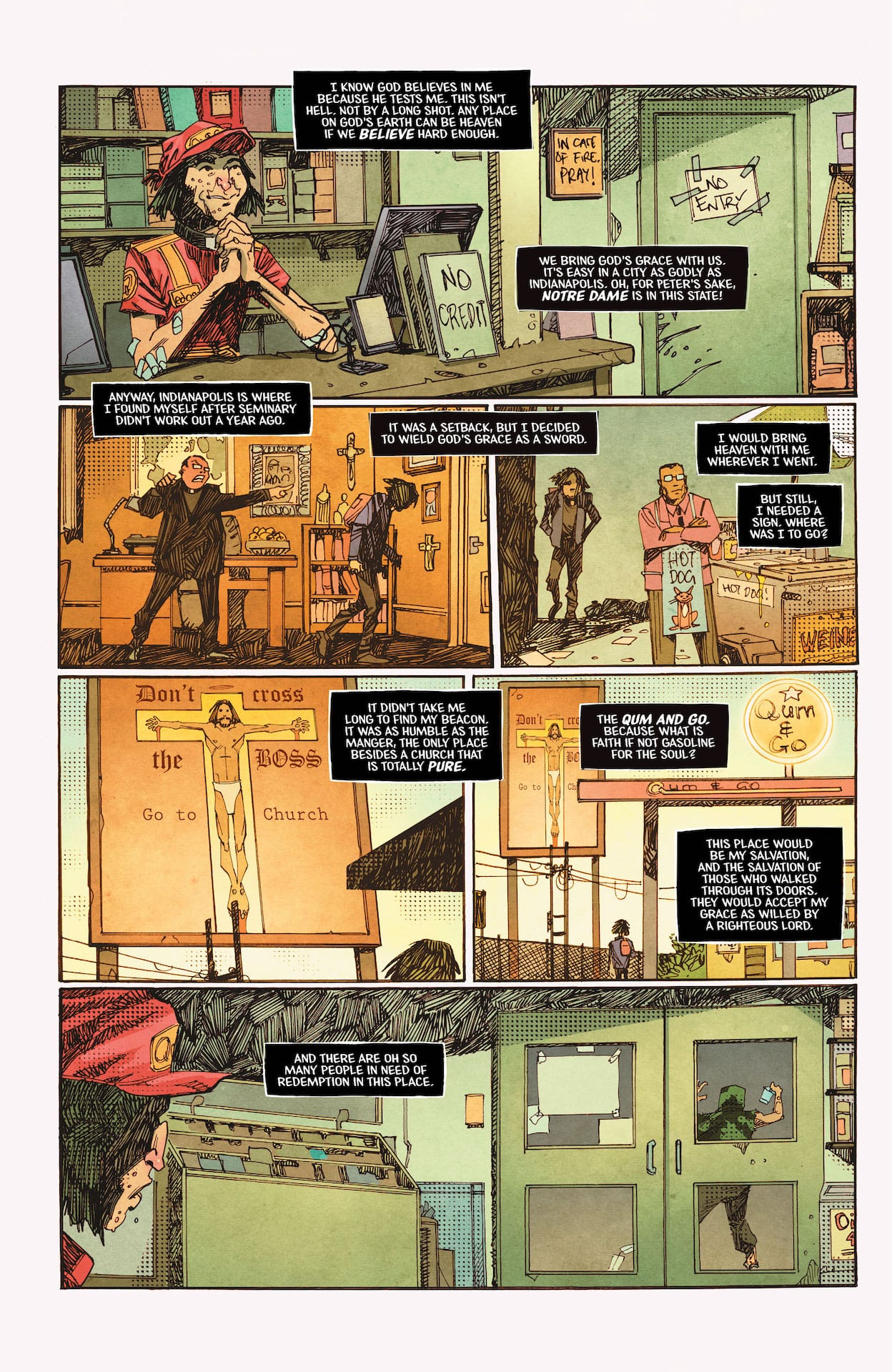 DC Preview: DC Horror Presents: Soul Plumber 1