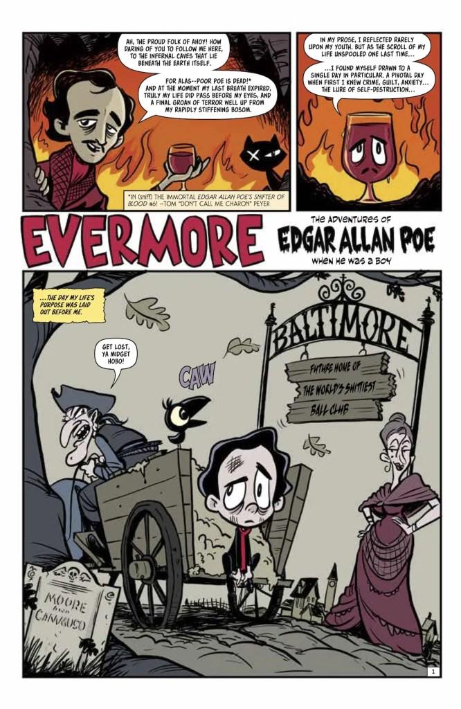 EXCLUSIVE AHOY Preview: Edgar Allan Poe's Snifter of Death #1