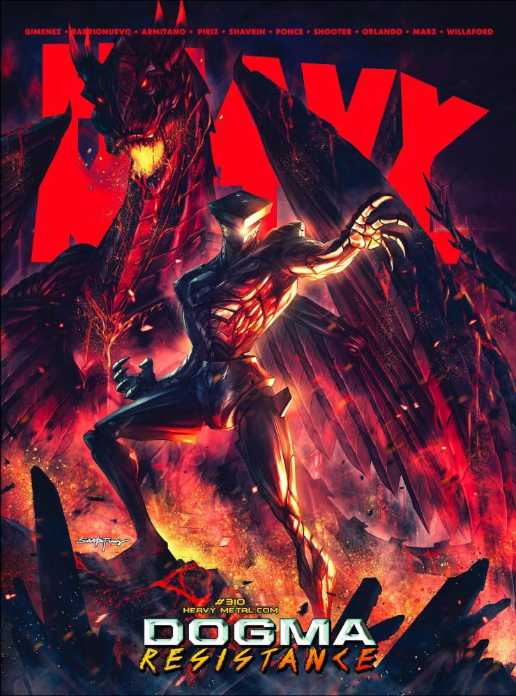 EXCUSIVE Heavy Metal Preview: Black Beacon Chapter #4