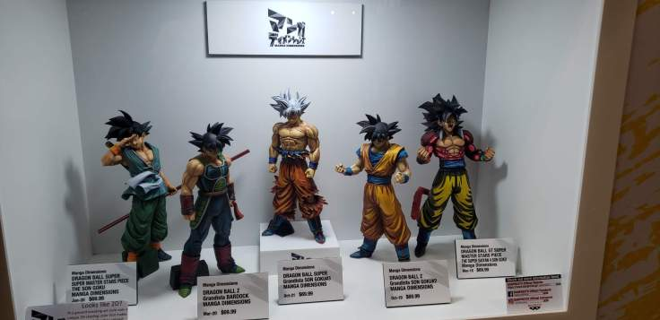 NYCC '21: All the toys at the Dragon Ball Super booth