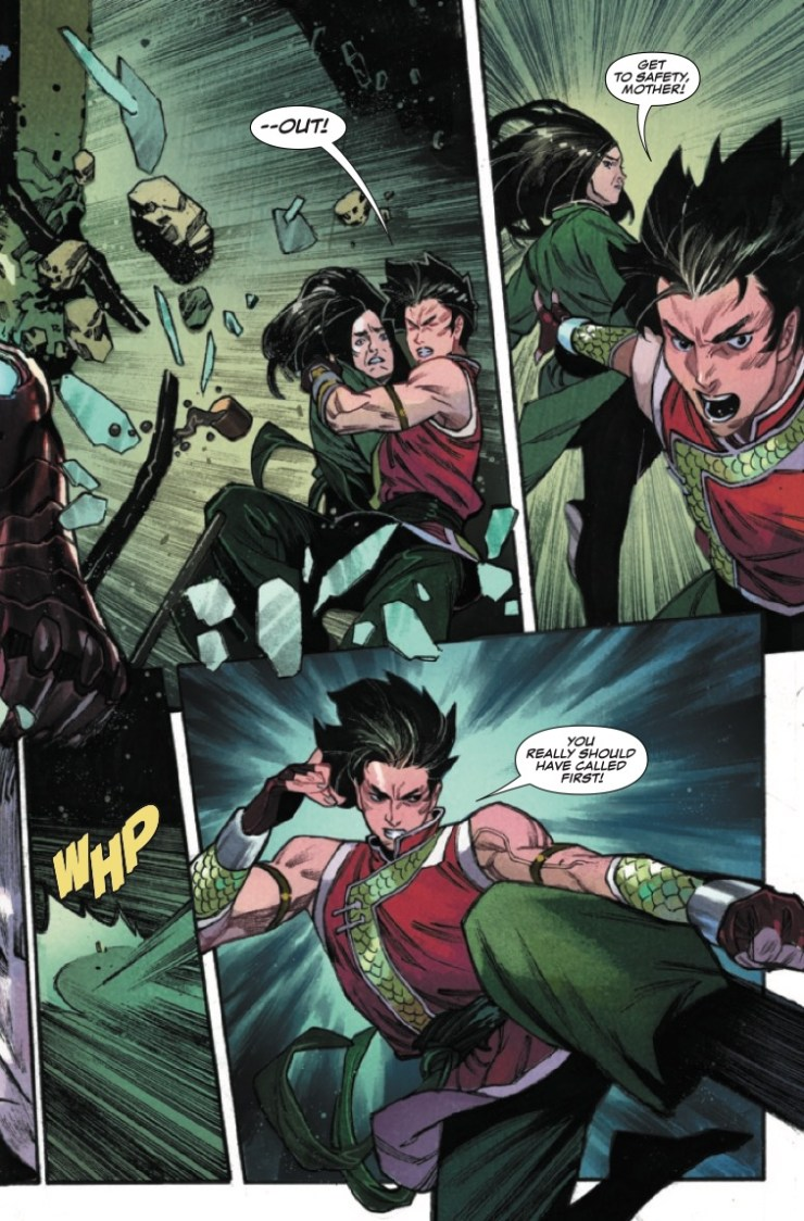 Marvel Preview: Shang-Chi #5