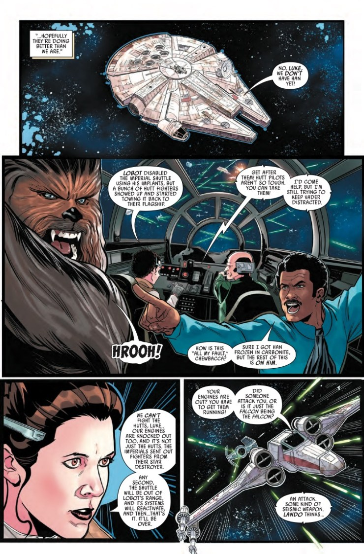 Marvel Preview: Star Wars: War of the Bounty Hunters #5