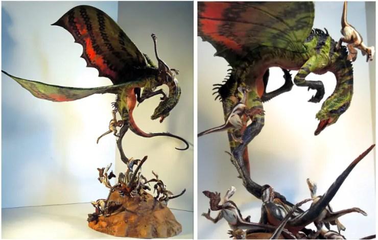 Dragon vs Raptors