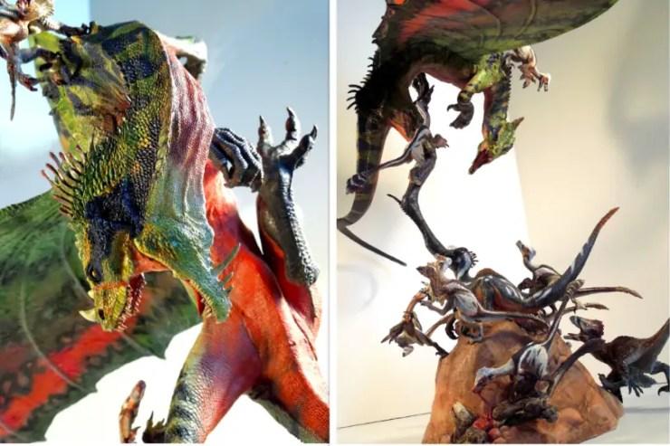 Dragon vs. Raptors