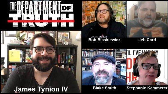 Department of Truth conspiracy theory jam session