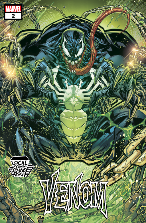 Marvel to celebrate Local Comic Shop Day with 'Venom' #2 variant cover