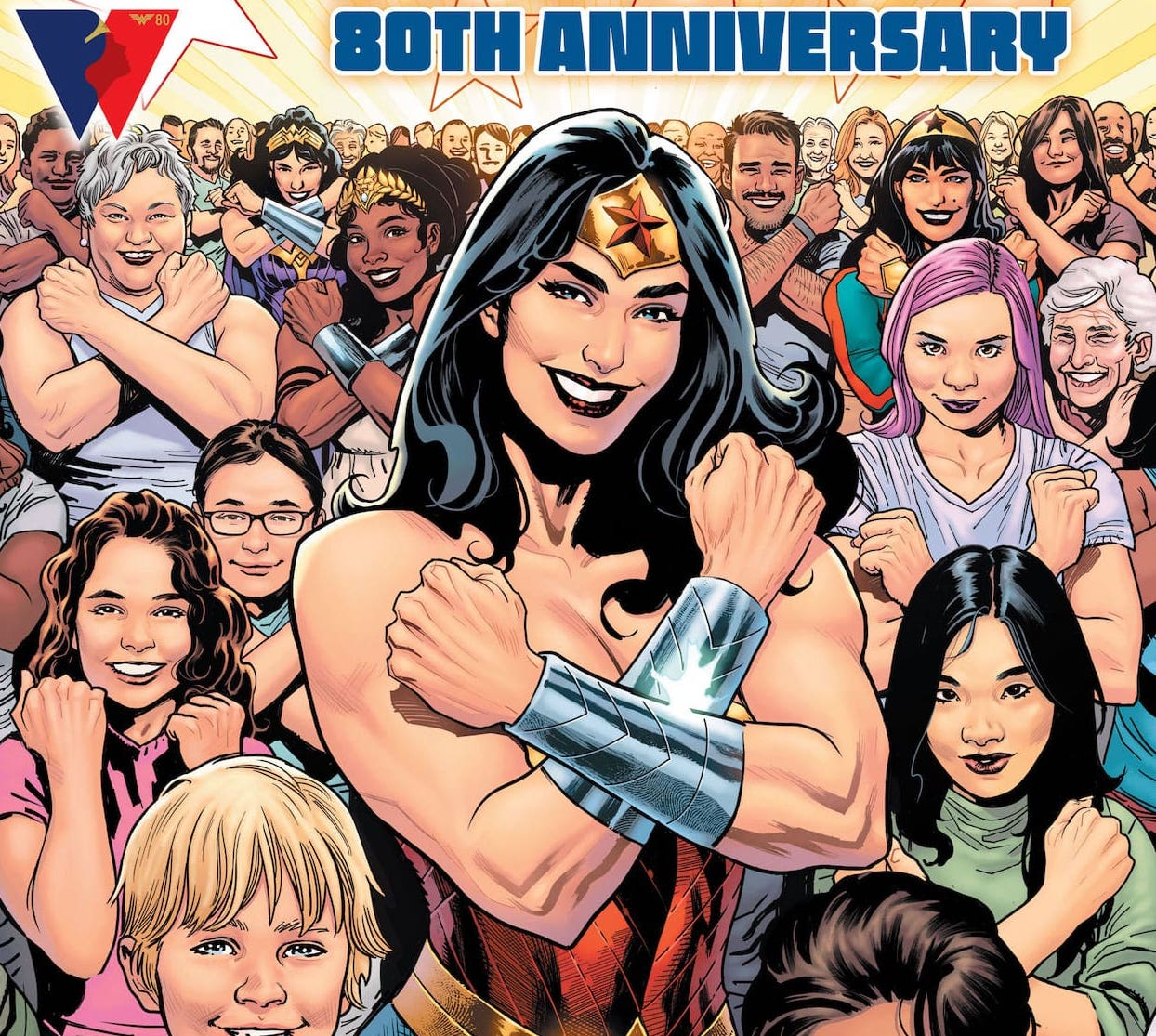 'Wonder Woman 80th Anniversary 100-Page Super Spectacular' #1 lives up to its name