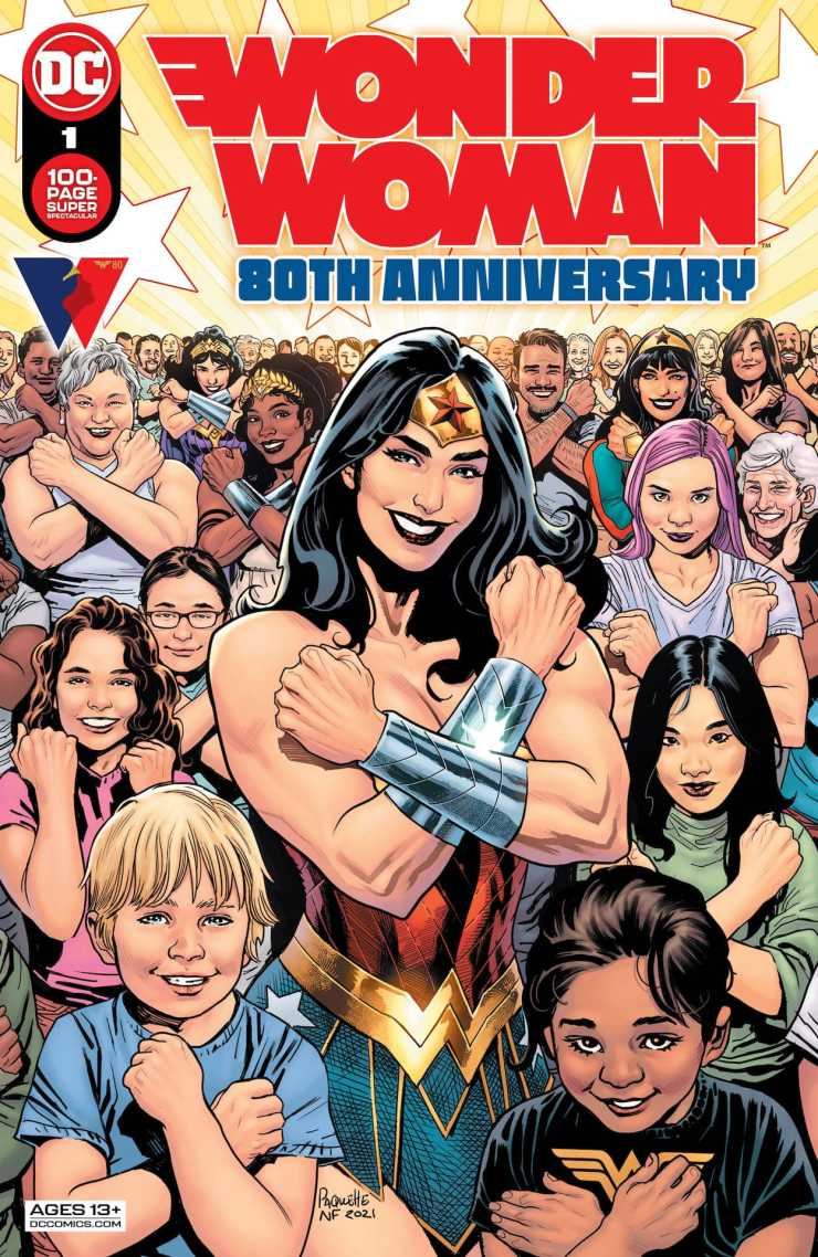 DC Preview: Wonder Woman 80th Anniversary 100-Page Super Spectacular #1