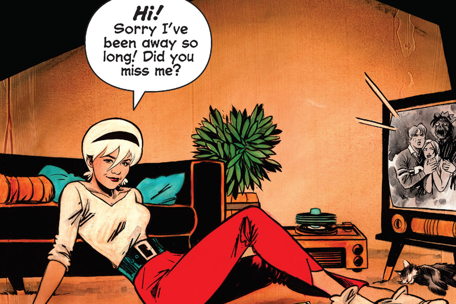 'Chilling Adventures of Sabrina' #9 takes us back to Sacasa's Greendale