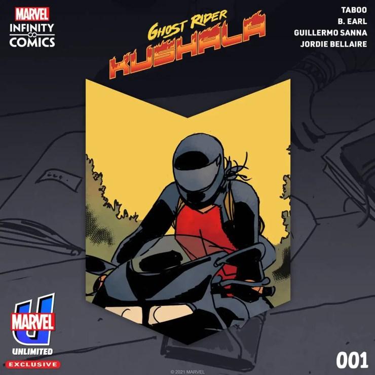 Ghost Rider: Kushala Marvel unilimited