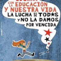 Paro y marcha nacional por la educación | 28 de junio