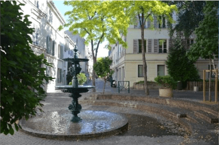 Fontaine de centre ville