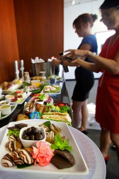 A delicious Air Gourmet lunch, for training and tasting.