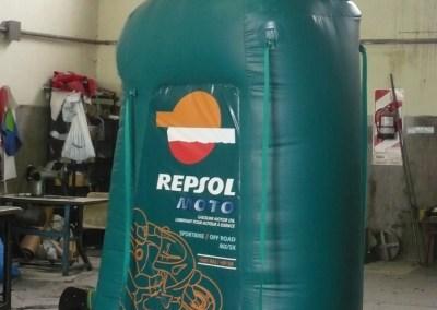 Envase de Lubricante Repsol Moto (YPF)